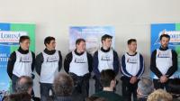 "Voiles de Seine a accueilli la présentation de la ""Team Lorina - Golfe du Morbihan"""