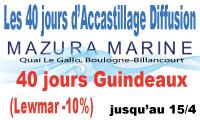 MAZURA MARINE lance les promotions 40 jours sur le port de Boulogne-Billancourt