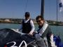 Deux étudiants de l'ESSEC et de Arts & Métiers sur le Tour 2013 à Dieppe avec VOILES DE SEINE