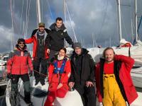 Un équipage Voiles de Seine à la Coupe Ile de France à la mer 2020 !