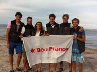 Equipage Ile-de-France sur le Championnat de France habitabl...