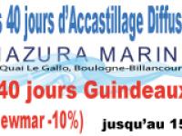 MAZURA MARINE lance les promotions 40 jours sur le port de B...