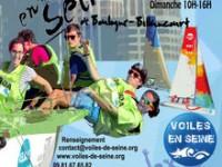 VOILES EN SEINE les régates de Boulogne-Billancourt